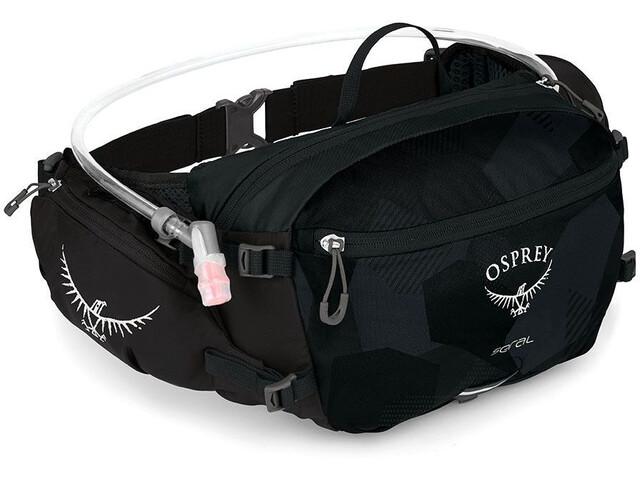 Osprey Seral 7 Hydration Waist Pack with Reservoir black